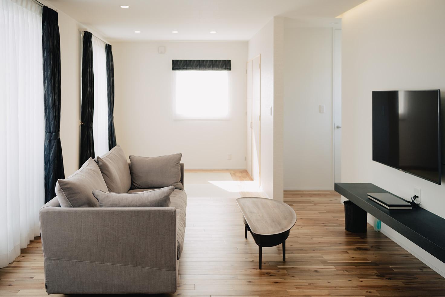 二世帯住宅 リビング